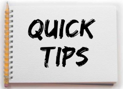 Quicktips-journalism